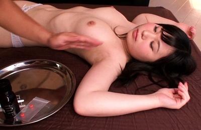 Jun mamiya. Jun Mamiya Asian has to swallow pills and juicy pussy explored