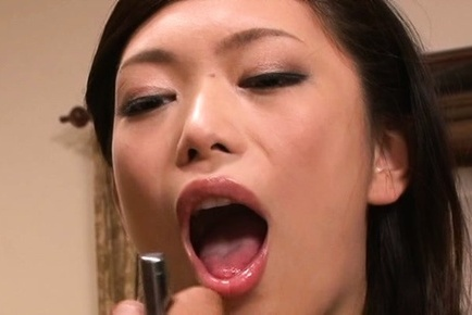 Hikari hino. Hikari Hino Asian has large tits and mouth