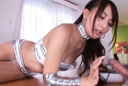 Jessica kizaki. Jessica Kizaki Asian touches man with excited