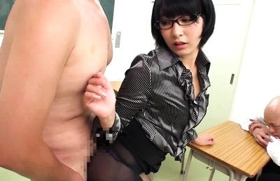 Miku Abeno Asian hotty demonstrates mouthful of ejaculation before a backside fuck