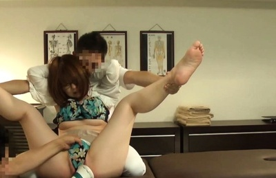 Amateur Asian dame has stockings off to get vibrocock on pussy. Japanese beauty Amateur
