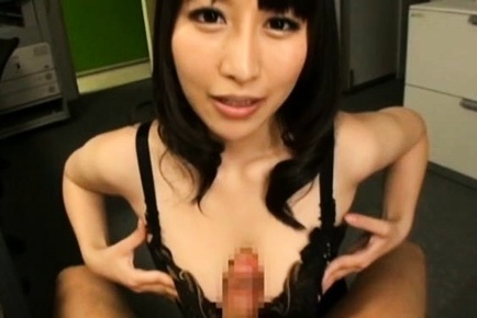 Yuuna Hoshisaki Asian arouses tool of cans over and without lingerie