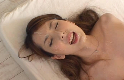 Yui Hatano has her clothes torn and drilled by four horny boyfriends. Japanese beauty Yui Hatano