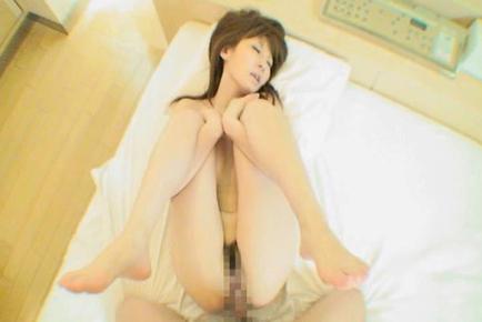 Nana Ayase Asian smiles seeing schlong she sucks and gets in cunt. Japanese beauty Nana Ayase