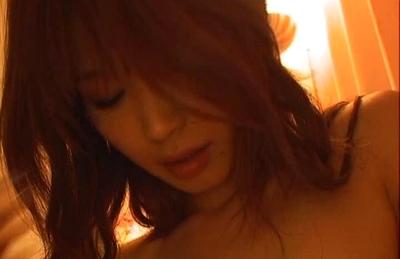 Ai Kurosawa Posing for nude pictures in her bedroom with camera. Japanese beauty Ai Kurosawa